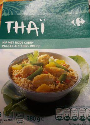 Thaï poulet au curry - Product
