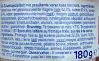 Spécialité laitière au fromage frais - Ingredienti - fr