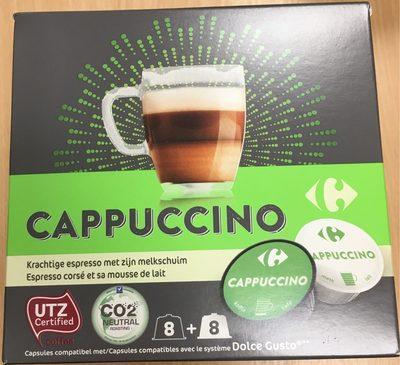 Cappuccino capsules lait et café - Product