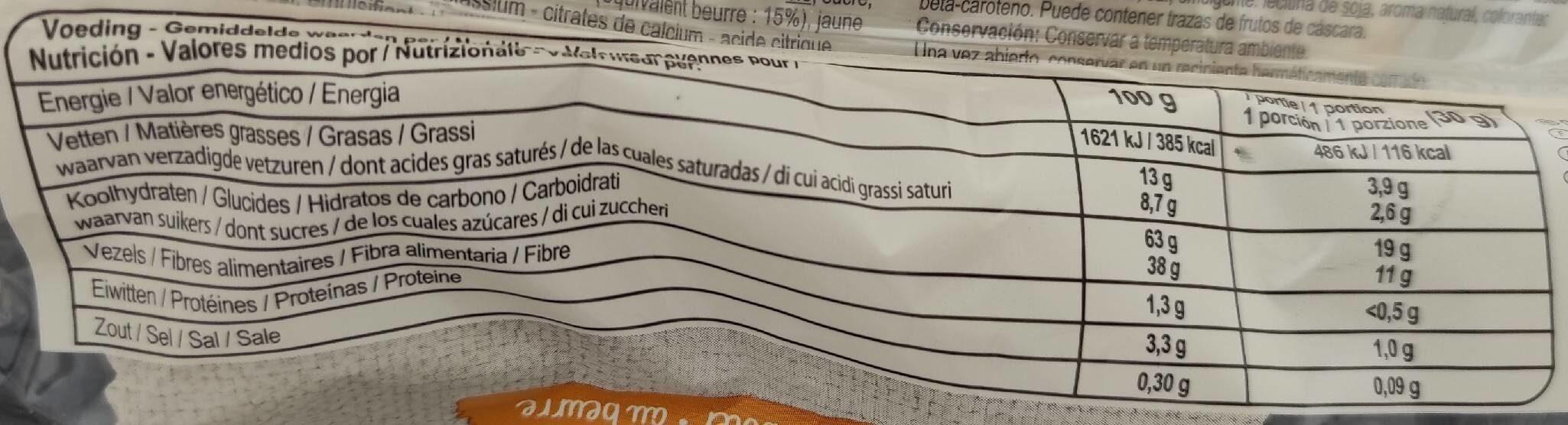 Tartelletes aux pommes - Voedingswaarden - fr