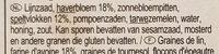 Knekkebrod avoine & épeautre - Ingrediënten - nl