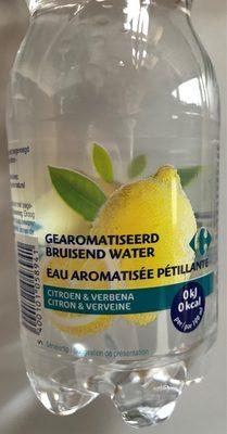 Eau aromatisée pétillante Citron & verveine - Product
