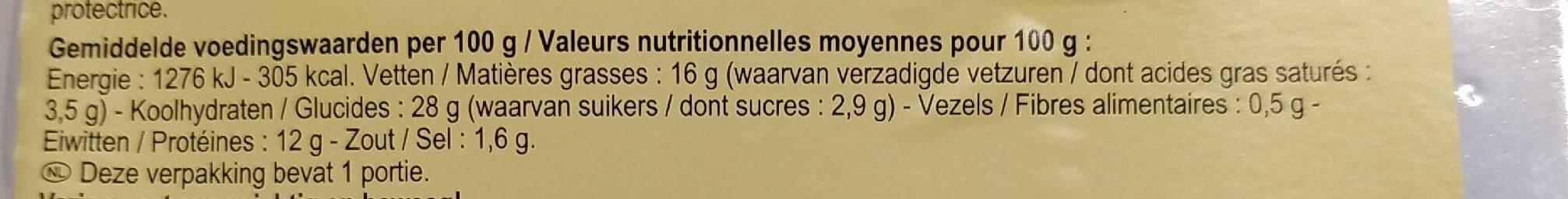 Max Chicken burger - Informations nutritionnelles - fr