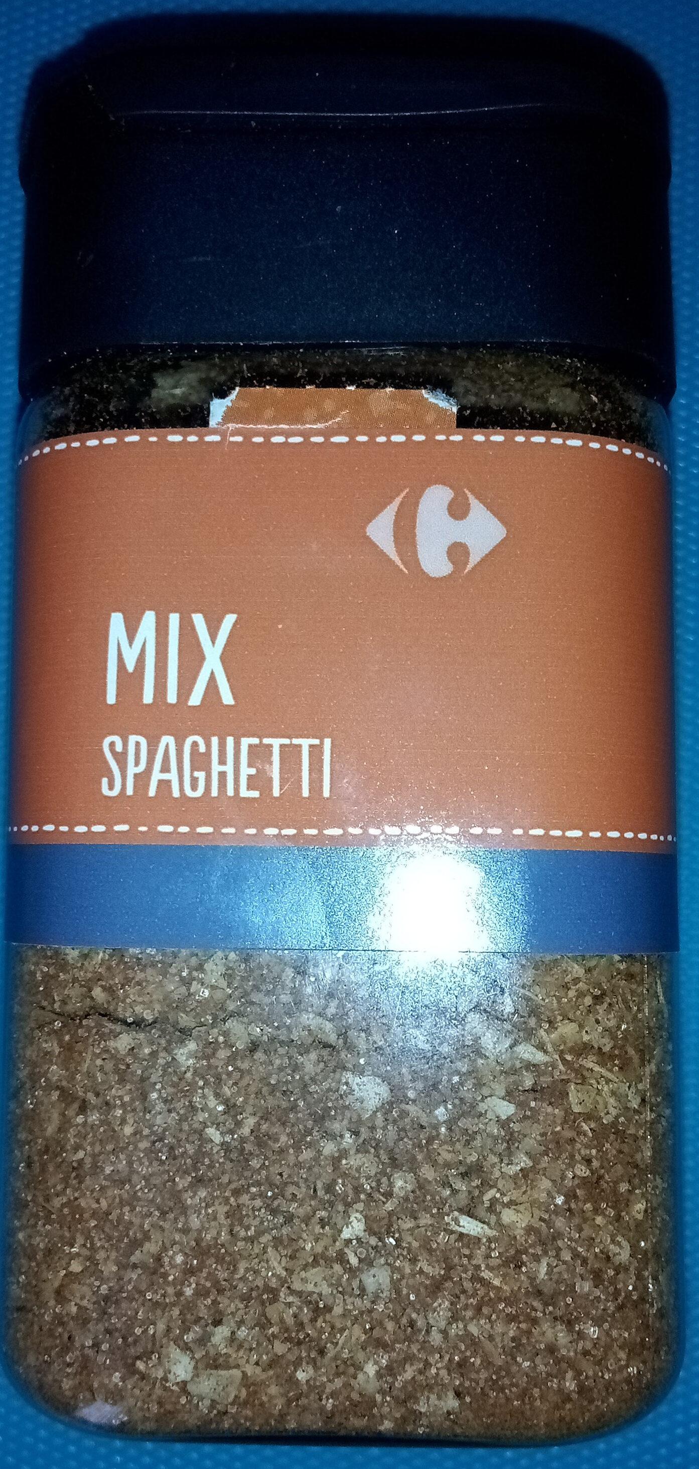 mix spaghetti - Produit - fr