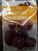 Raisin sultanines - Product - fr