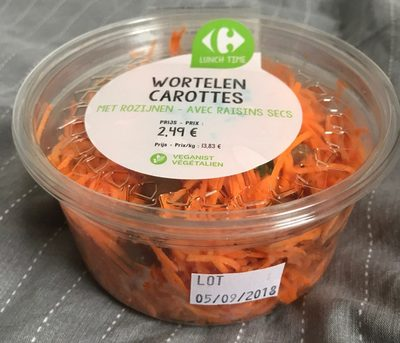 Carottes avec Raisins Secs - Product - fr
