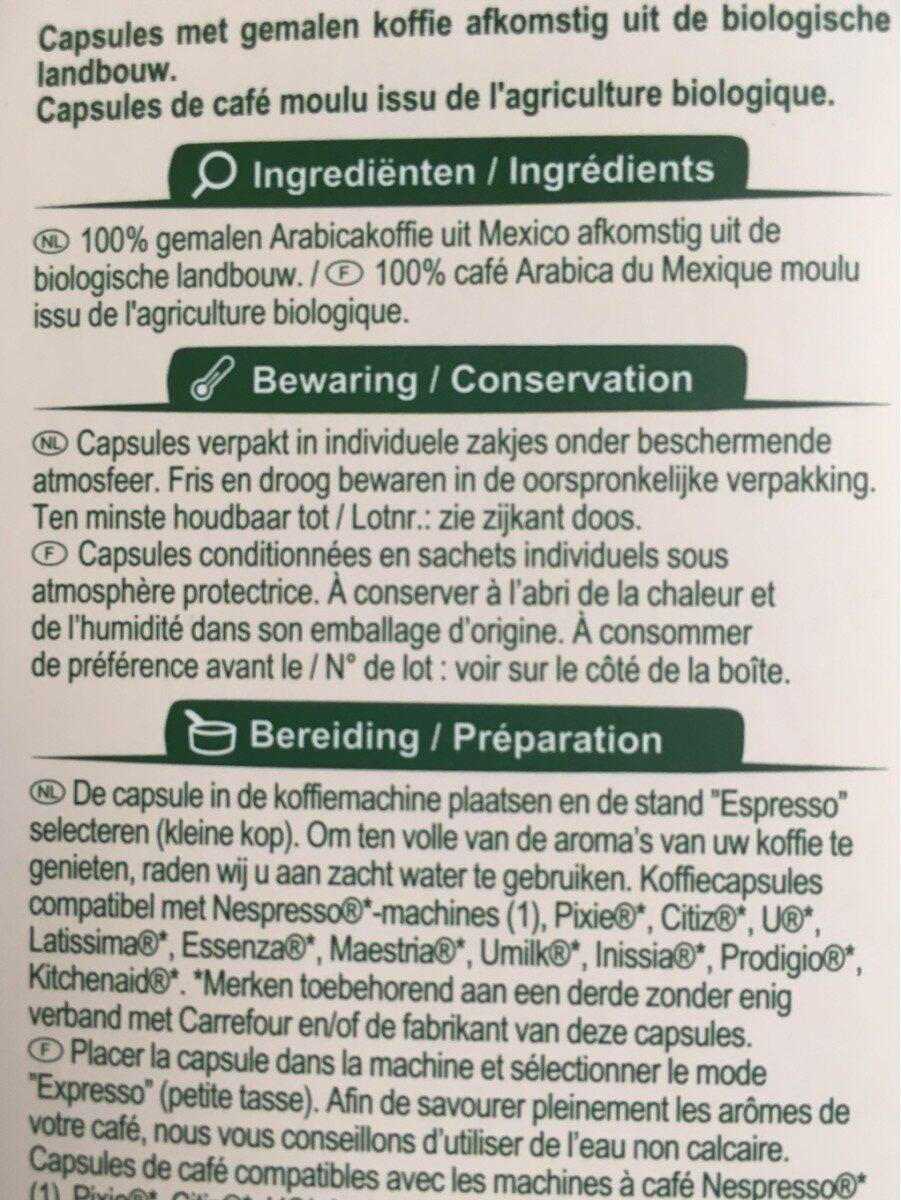 Mexico - Ingrediënten - fr