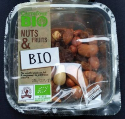 Nuts&Fruits BIO - Product