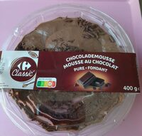 Mousse au chocolat  -  Pure fondant - Product - fr
