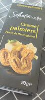 Cheese palmiers - Product - fr