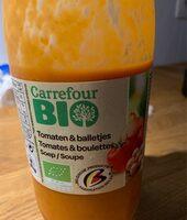 Soupe Tomates/boulettes - Product
