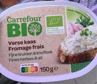 Fromage frais fines herbes et ail - Product - fr