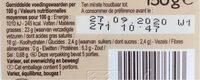 Fromage frais fines herbes et ail - Nutrition facts - fr