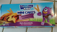 mini cakes marbrés - Product - fr