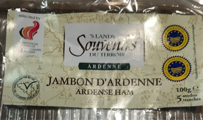 Jambon d'Ardenne - Product - fr