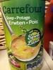Soupe aux pois avec lard - Product