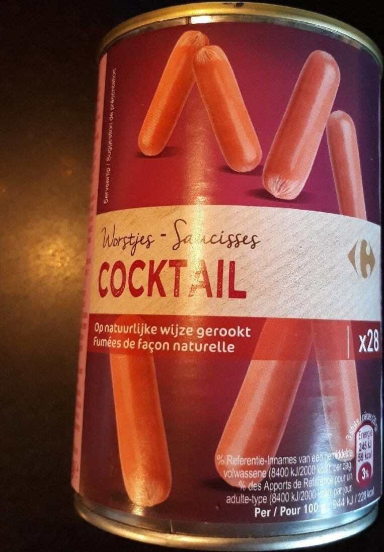 Saucisses cocktail - Produit