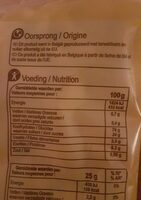 Nic Nac - Informations nutritionnelles - fr