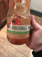Sauce pasta tradizionale aux légumes - Product - fr