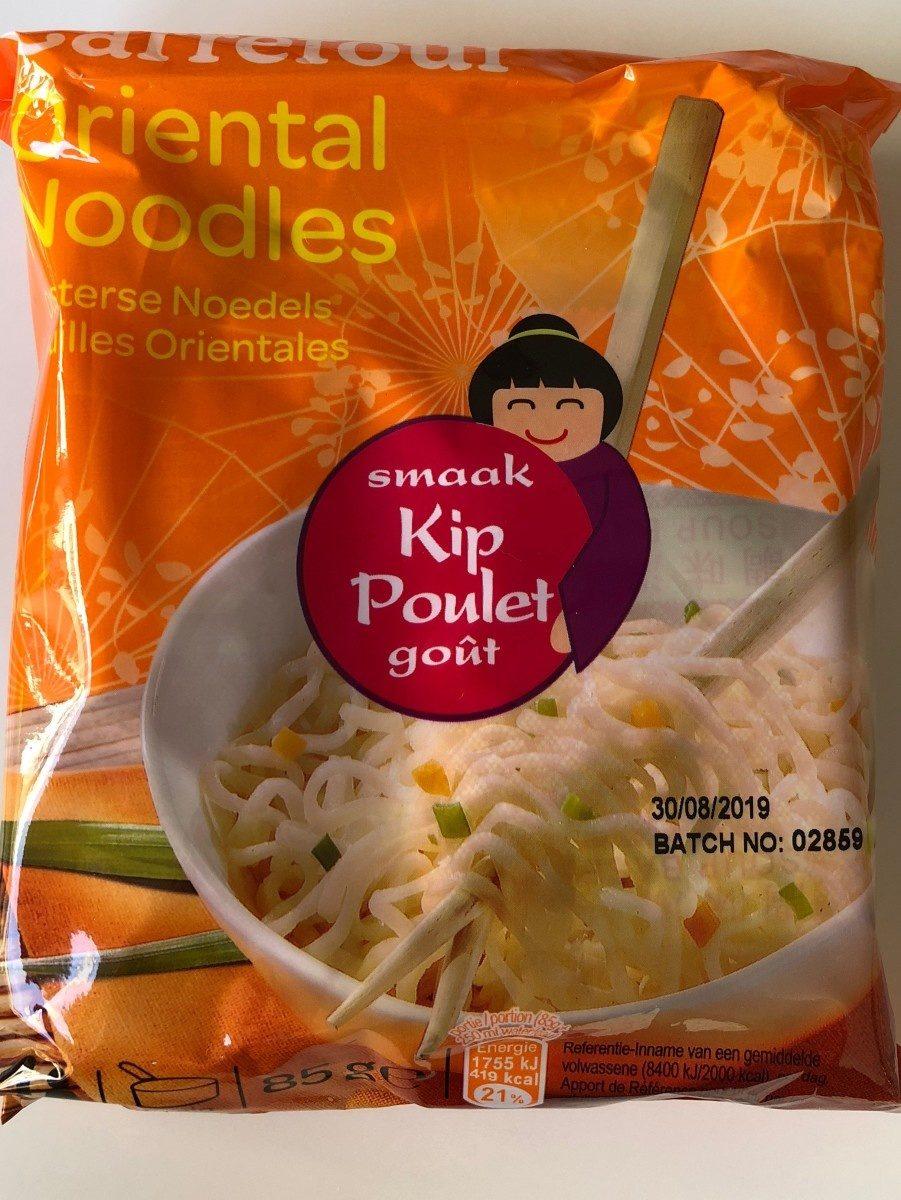 Nouilles orientales - goût poulet - Product