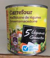Macédoine Aux 5 légumes - Product - fr