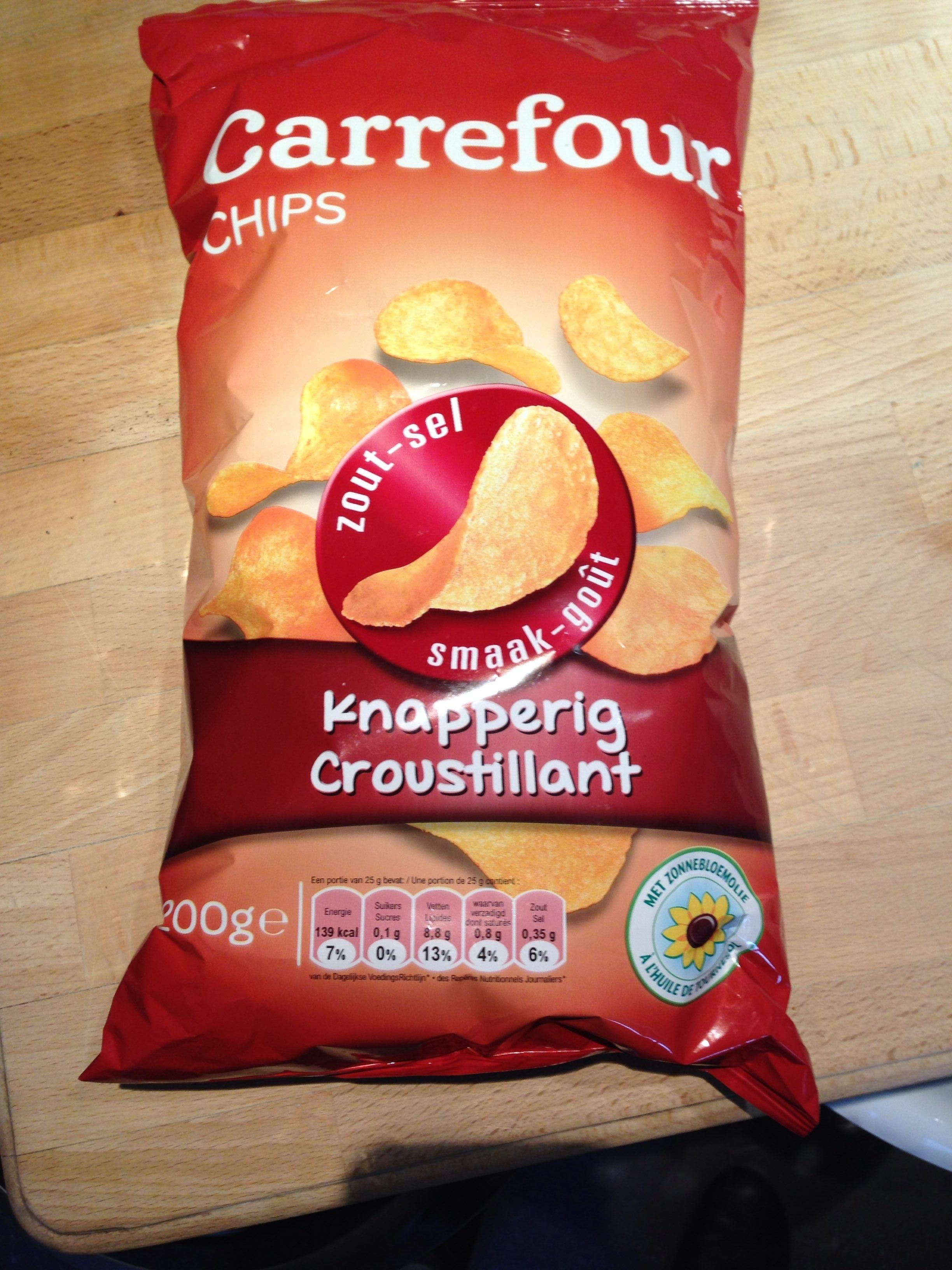 Chips croustillant Sel - Product
