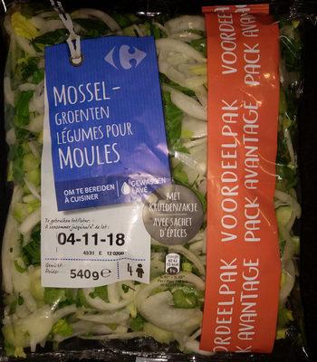 Légumes pour moules - Produit - fr