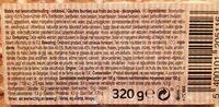 Gaufre fruits des bois - Informations nutritionnelles - fr