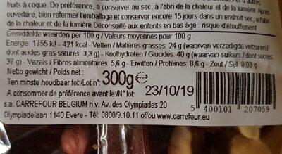 Noix et fruit sec - Ingredients - fr