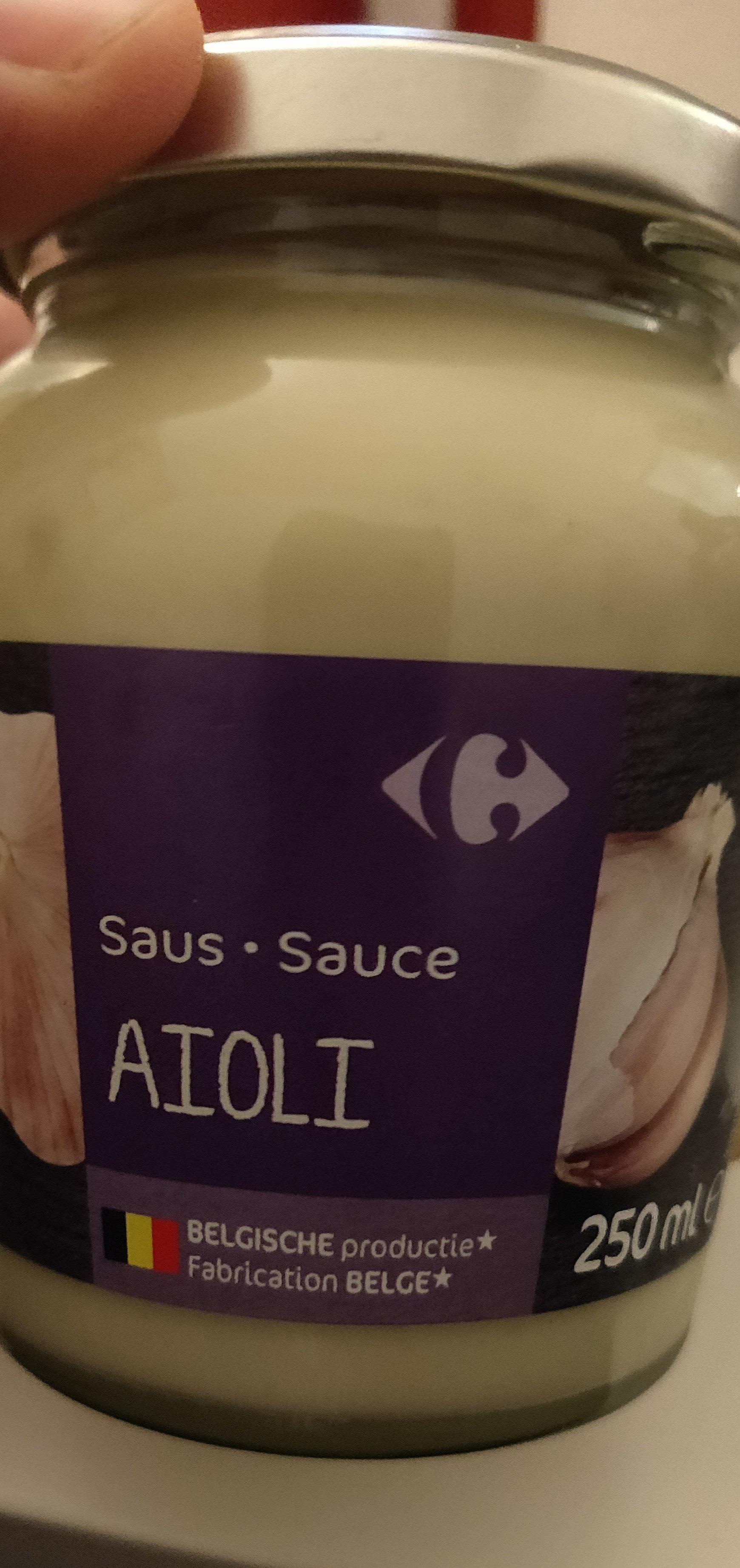 Sauce aïoli - Produit - fr