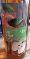 Vinaigre de cidre de Normandie - Nutrition facts - fr