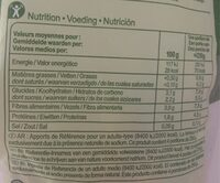 Wok Mix - Informations nutritionnelles - fr