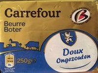 Beurre DOUX LAIT ORIGINE BRETAGNE - Product - fr