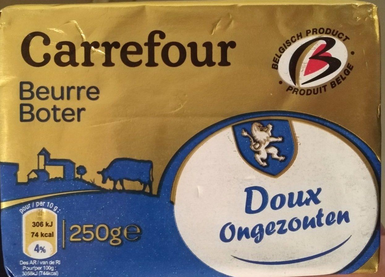 Beurre DOUX LAIT ORIGINE BRETAGNE - Product - nl