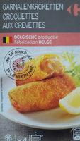 Croquettes aux crevettes - Product - fr