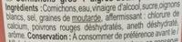 Cornichons Entiers Aigres-Doux - Ingrédients - fr