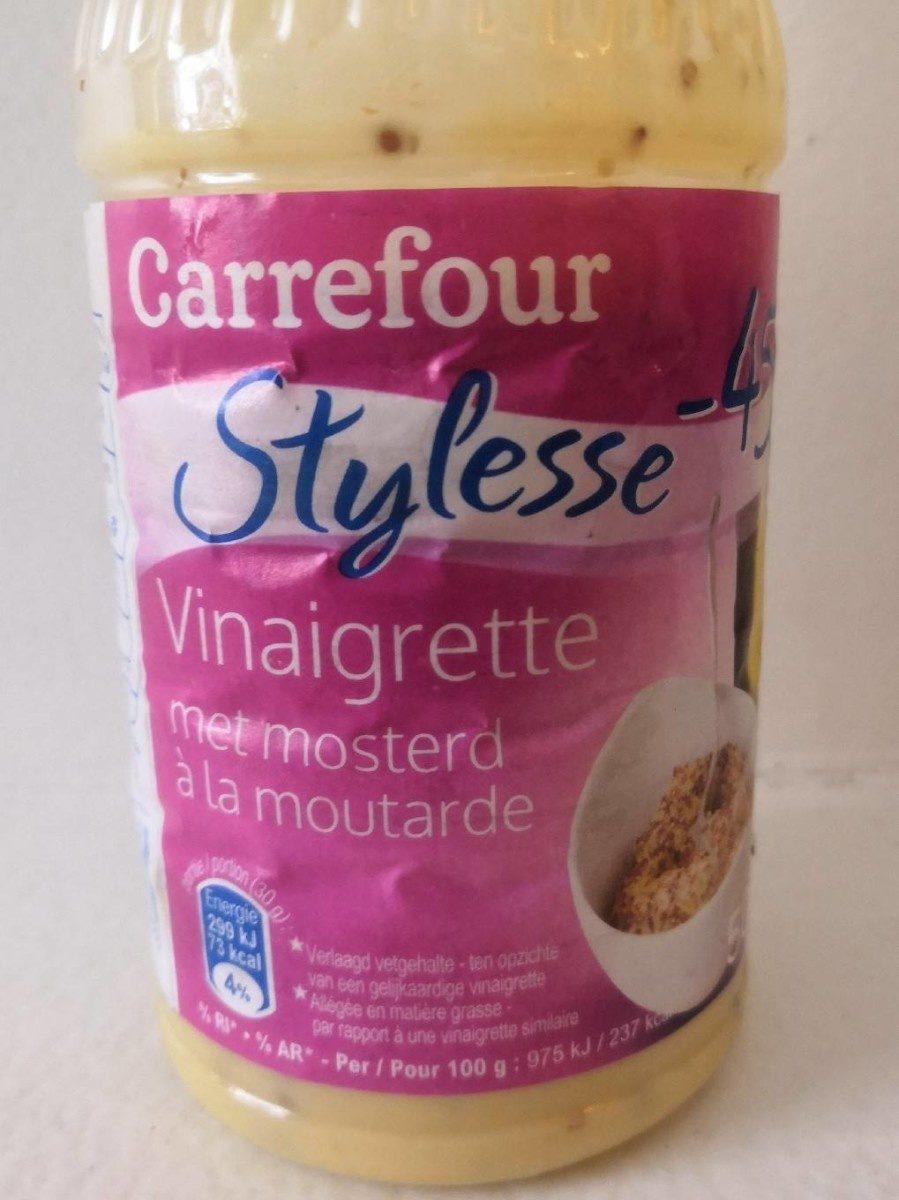 Vinaigrette a la moutarde - Product - fr