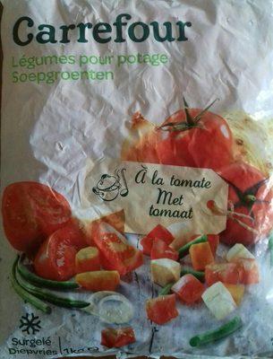 Légumes pour potage à la tomate - Product