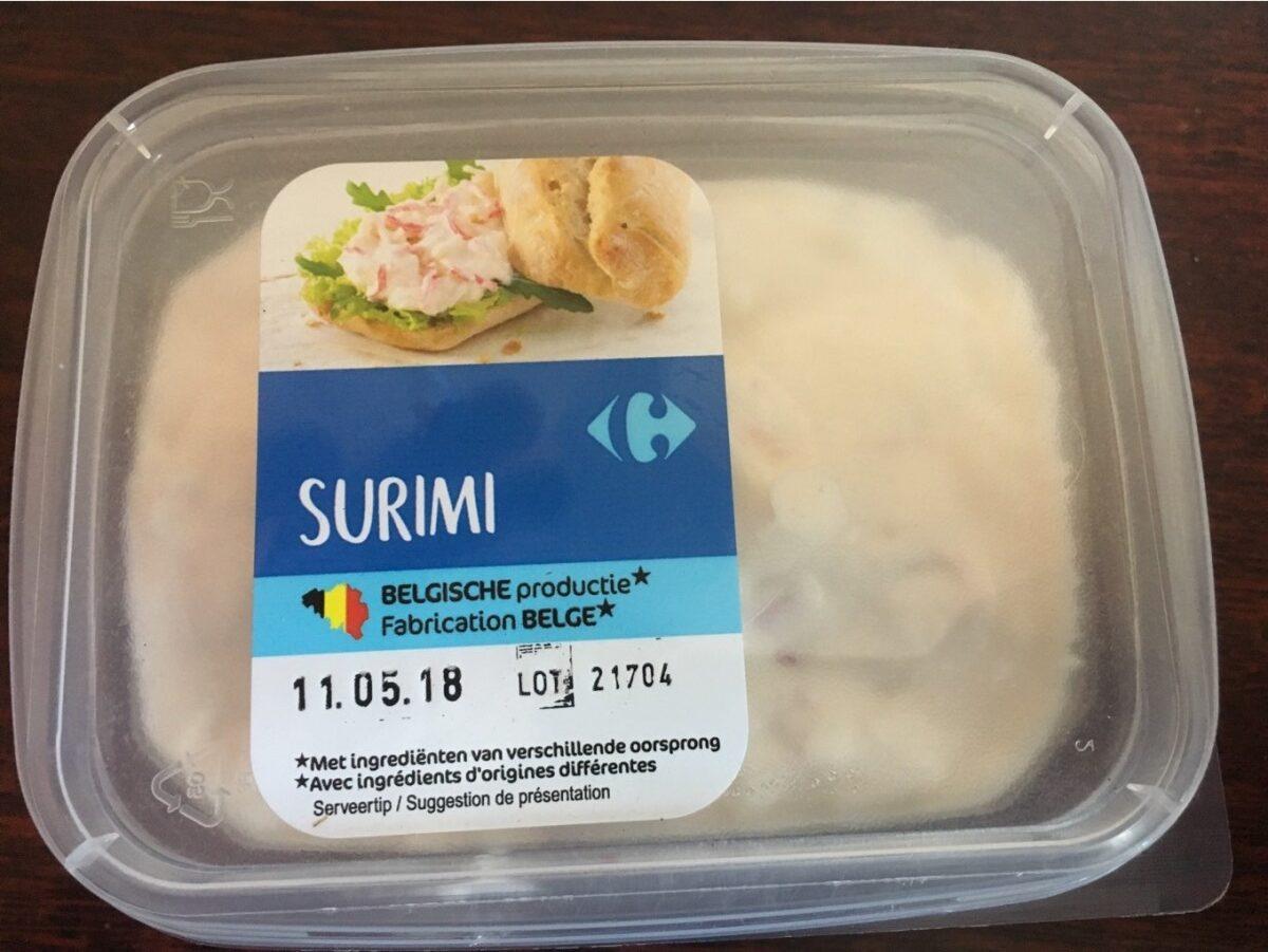 Préparation de surimi à tartiner - Product - fr