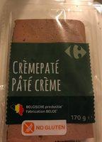 Pâté crème - Product - fr