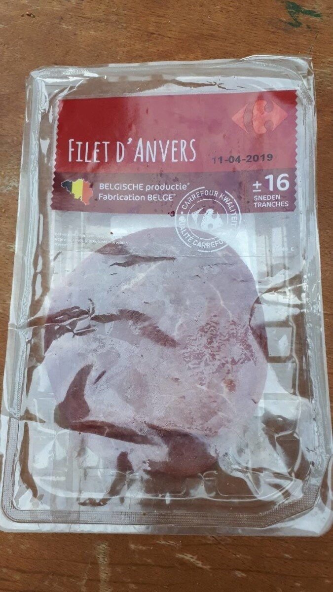 Filet d'Anvers - Product - fr