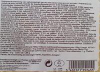 Cordon bleu haché - Informations nutritionnelles - fr