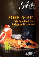 Soupe poissons et crustacés - Product