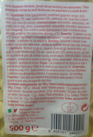 Tortellini à la viande - Ingredients