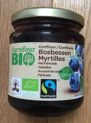 Confiture Myrtilles Bio - Product - en