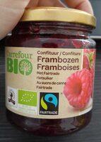 Confiture bio framboises - Product