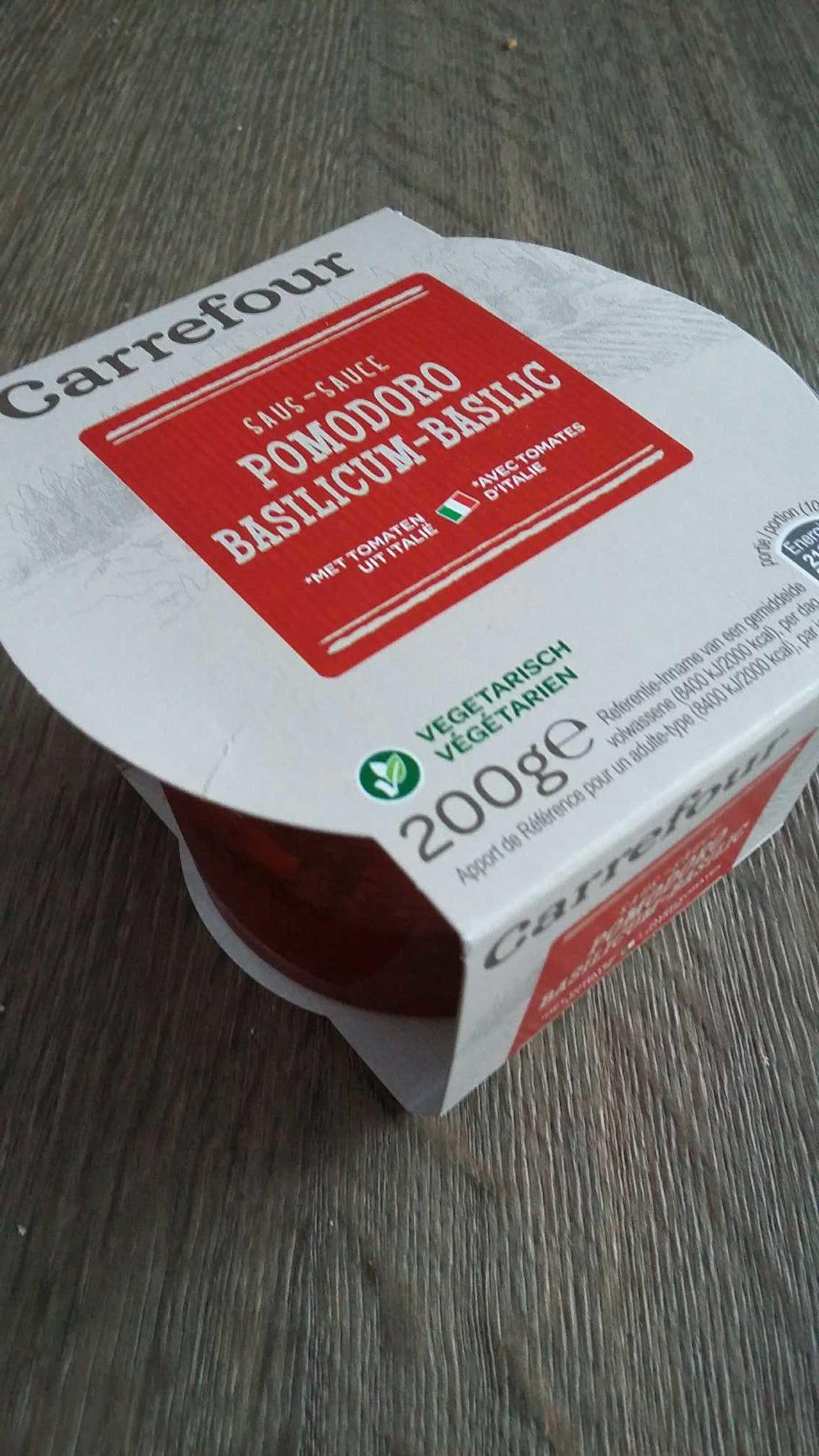 Sauce pomodoro basilico - Product