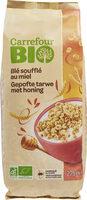 Blé soufflé au miel - Produit - fr
