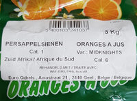 oranges a jus - Product - fr