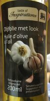 Huile d'olive a l'ail - Product - fr